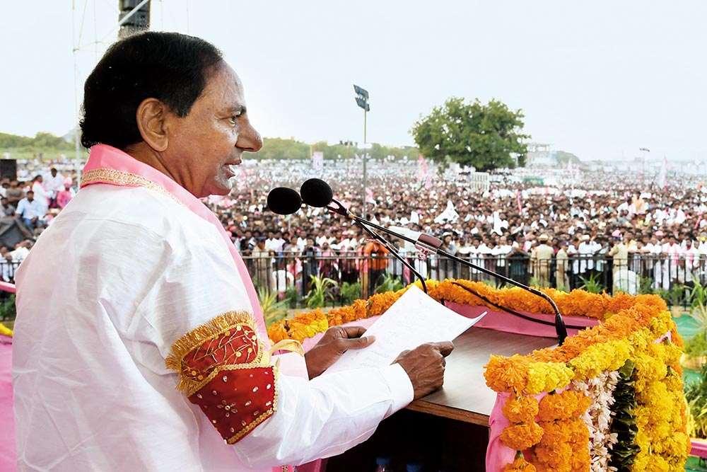 Can Gaddar Emerge As A Key Challenger To KCR And TRS In Telangana?