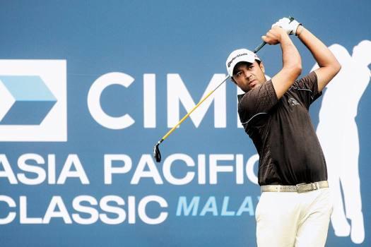 Arjun Atwal, Golf, 2010