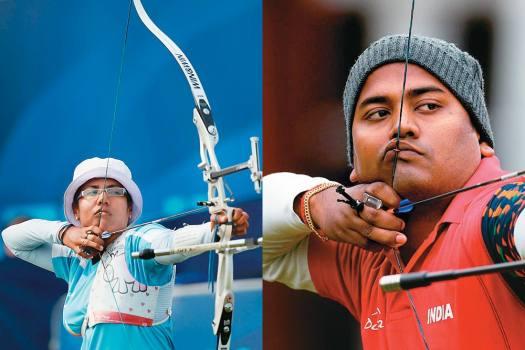 Dola Banerjee & Jayanta Talukdar, Archery, 2006