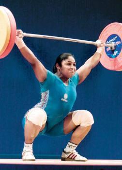 Karnam Malleswari, Weightlifting, 2000 Olympics