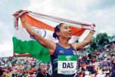 Hima Das, Athletics, 2018