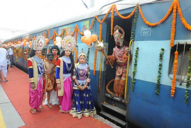 Welcome Aboard The Shri Ramayana Express