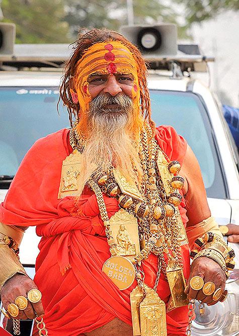 Sudhir Makkar alias Golden Baba