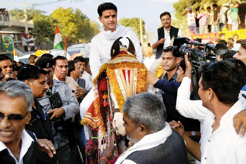 In Poll-Bound Rajasthan, Winds Of Change Have A Loud Echo