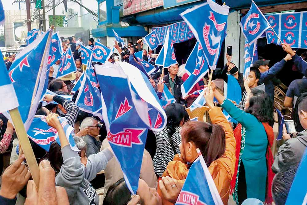 Outlook-Lokniti-CSDS Analysis: Congress Failed To Highlight Its Feats In Mizoram