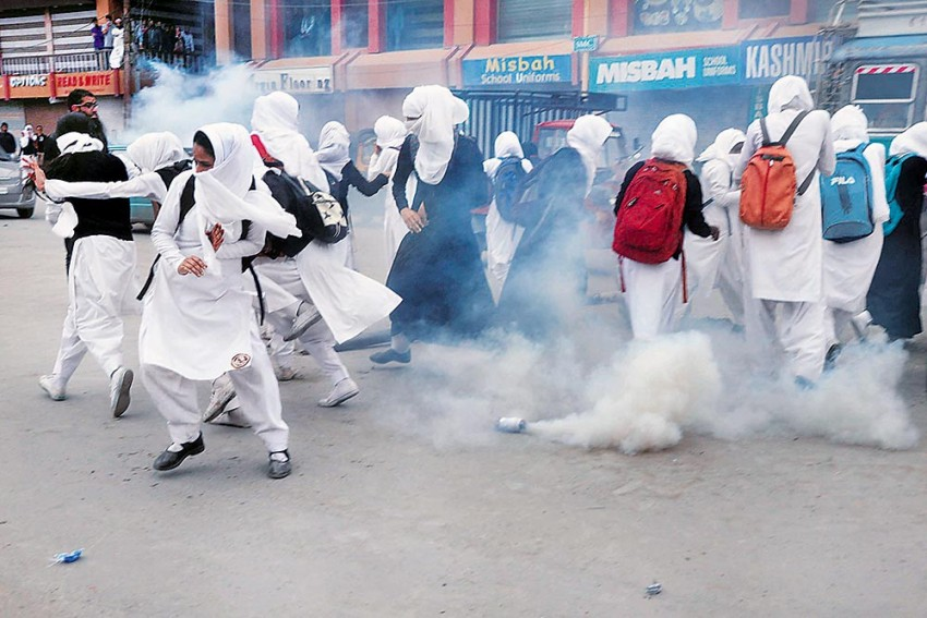 Not A Place To Breathe: How Tear Gas Poses A Public Health Risk In Kashmir