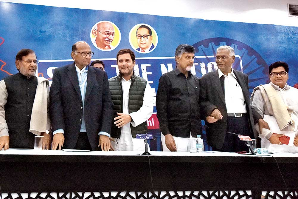 Can Opposition Parties Put Up A Credible Alliance To Take On BJP?