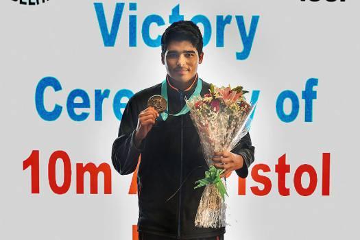 Saurabh Chaudhary (Sports-Indian shooter) Indian Shooter