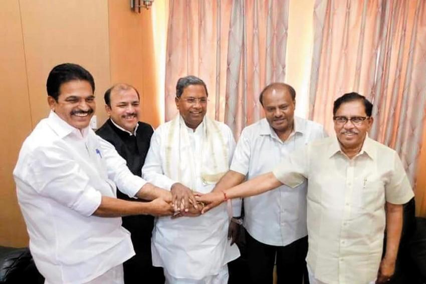 Congress, JD(S) Tie Up To Take On BJP In Lok Sabha Polls