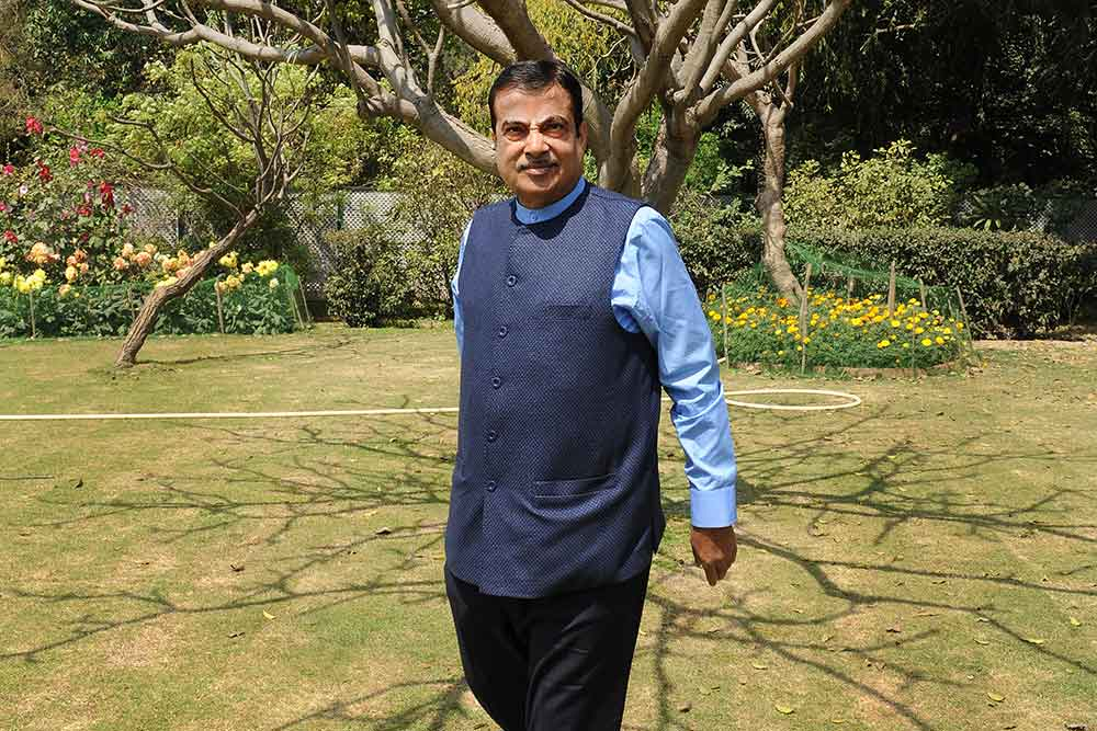 Mahagathbandhan Is Politics Of Opportunism: Nitin Gadkari
