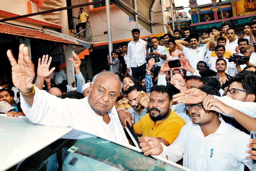 H.D. Deve Gowda: Not Tired, Not Retired