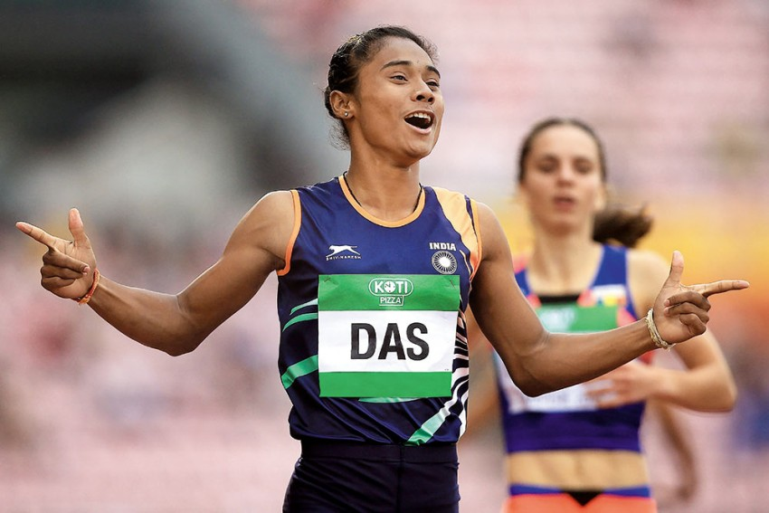 Promising Hima Das Spicing Up India's Olympic Dreams