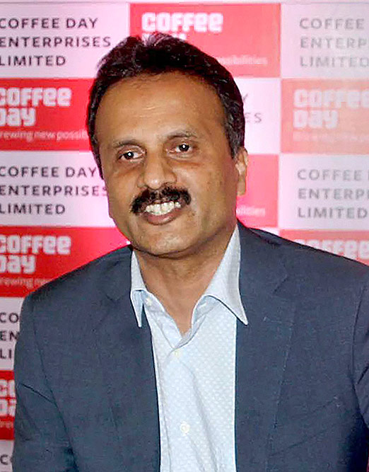 VG Siddhartha Cafe Coffee Day owner