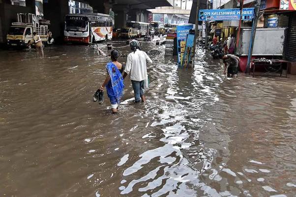 Cloudburst In J&K Causes Flash Floods In Ganderbal