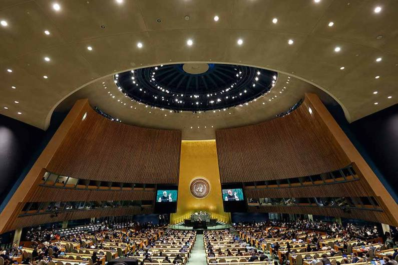 UN General Assembly Adopts Anti-Racism Resolution, Israel & US Boycott Meeting