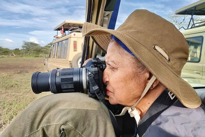 Meet Waheeda Rehman In Her New Avatar: A Wildlife Photographer