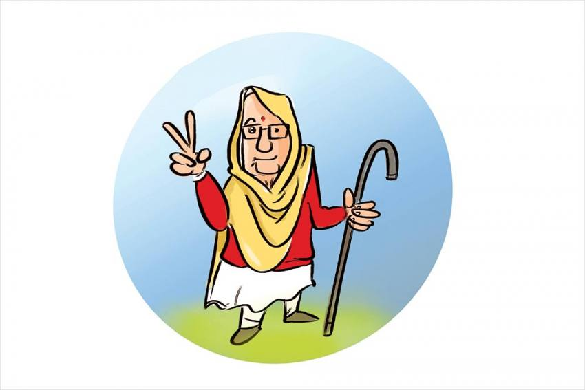 Naani Is Nona, Packs A Sar-Punch