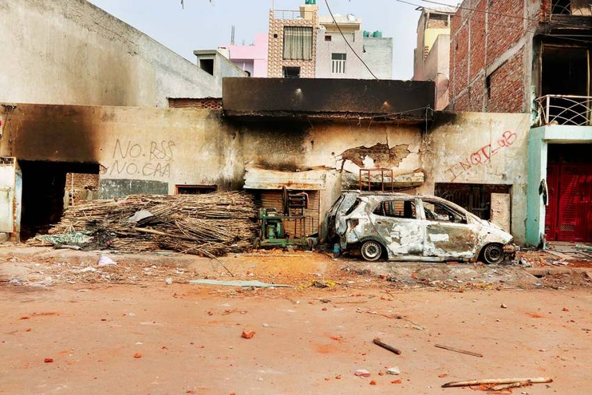 A Walk Through Scarred Lanes Of Delhi In The Aftermath Of A Riot