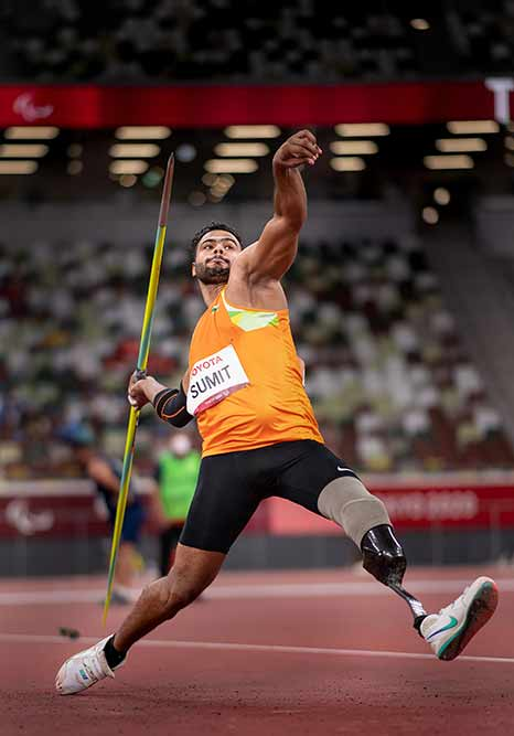 Javelin Thrower Sumit Antil Won Gold for India Paralympics 2020