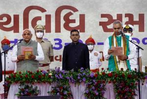 Bhupendra Patel Takes Oath As Gujarat CM