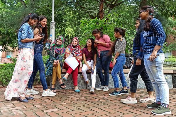 Colleges Reopen In Delhi