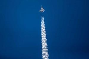 IAF Conducts Air Show At Dal Lake In Srinagar