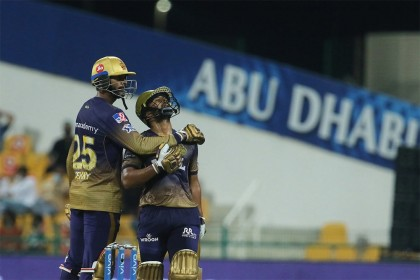 Venkatesh Iyer, Rahul Tripathi Script Big KKR Win Vs MI In IPL 2021