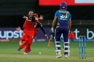 Harshal Patel Takes Hattrick As RCB Crush MI In Dubai