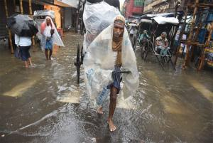 'Non Stop' Rains Bring Life To A Standstill In Kolkata
