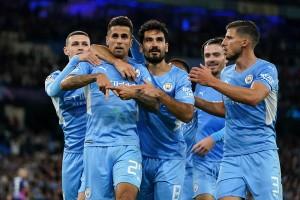 UEFA Champions League 2021: Man City Survive Nkunku Hat-trick To Overwhelm Leipzig 6-3