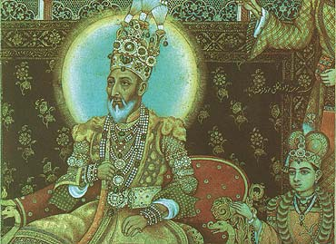 In The Court Of Bahadur Shah