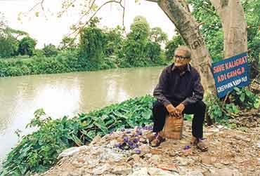 Greenman At Holy Creek