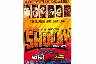 2. Sholay - 1975