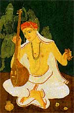 Tyagaraja, the bard of Tiruvarur