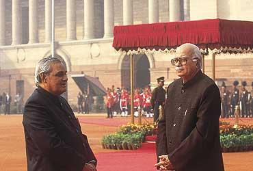 Advantage Advani Or Game Vajpayee?
