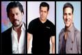 Shah Rukh Khan, Salman Khan, Akshay Kumar Part of Forbes' Highest-Earning Celebrities List