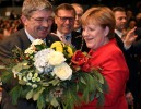 Germany's Merkel Re-elected As Conservative Party Leader