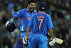 Yuvi, Dhoni Power India to Series Win