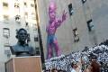 Snowden Bust Kicks Off New York Art Festival