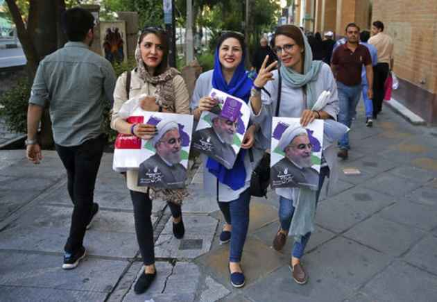 Iran Votes in Verdict On Rouhani's Economy, Diplomacy