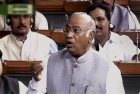Kharge Attacks Govt for Proceeding With Budget