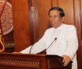 Sirisena Rejects Rajapaksa's Claim About Toppling The Govt