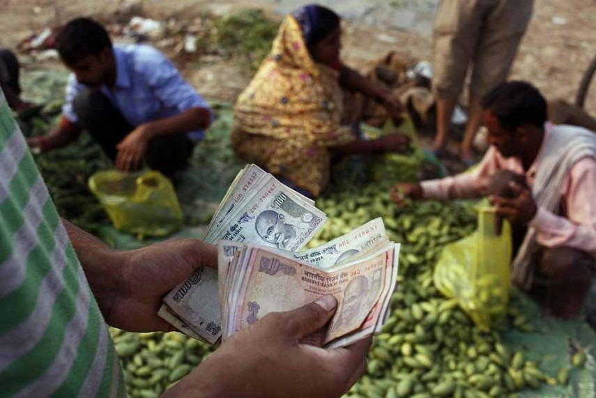 Rupee Firms Up 8 Paise Against Dollar at 64.35