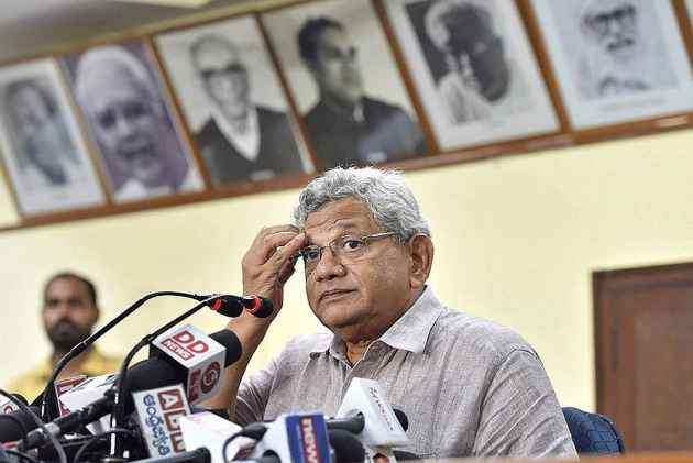 Ram Rahim Rape Trial: Yechury Alleges BJP of Being 'in Cahoots With' Dera Chief's Cult