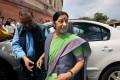 Cong Refuses to Buy Swaraj's 'Humanitarian' Argument