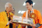 Bhaichung Bhutia Conferred Honourary Degree by Jadavpur University