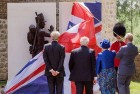 Prince Charles Unveils Waterloo Memorial in Belgium