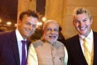 Gilchrist, Lee Join Australian Delegation for Dinner With Modi