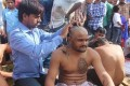 Hardik Shaves Head Ahead of PM Visit, Alleges 'Atrocities' Against Patels by BJP