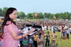 Hema Malini Stopped From Visiting Scene of Violence in Mathura